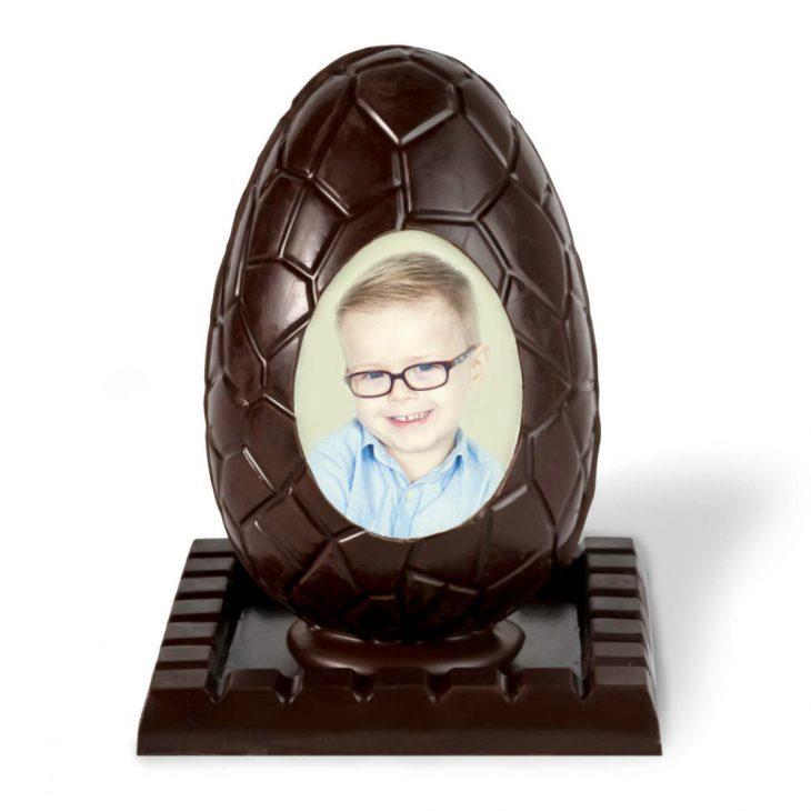 Mona de chocolate personalizada