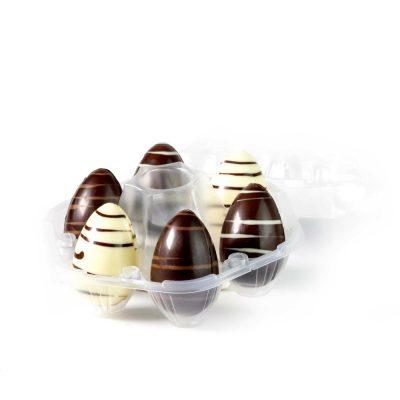 Huevos de chocolate surtidos
