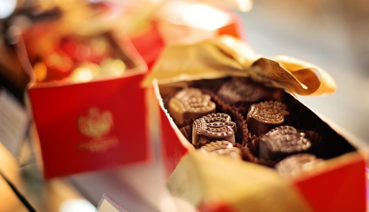 Regalar chocolate : Ideas para dar forma al chocolate.