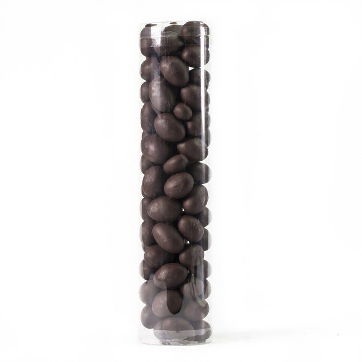 Avellanas cubiertas con chocolate
