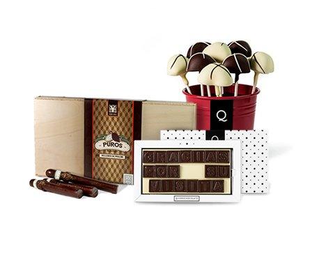 Chocolates personalizados para bodas