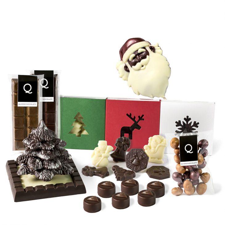 Pack de chocolates de Navidad