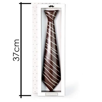 corbata de chocolate