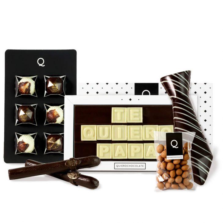 Pack de chocolates del Día del Padre
