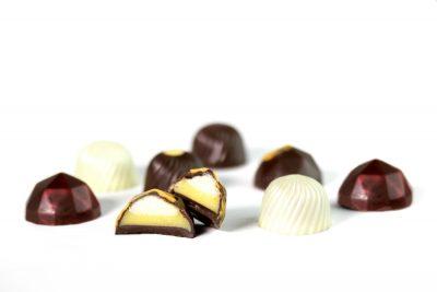 Bombones de chocolate ed verano