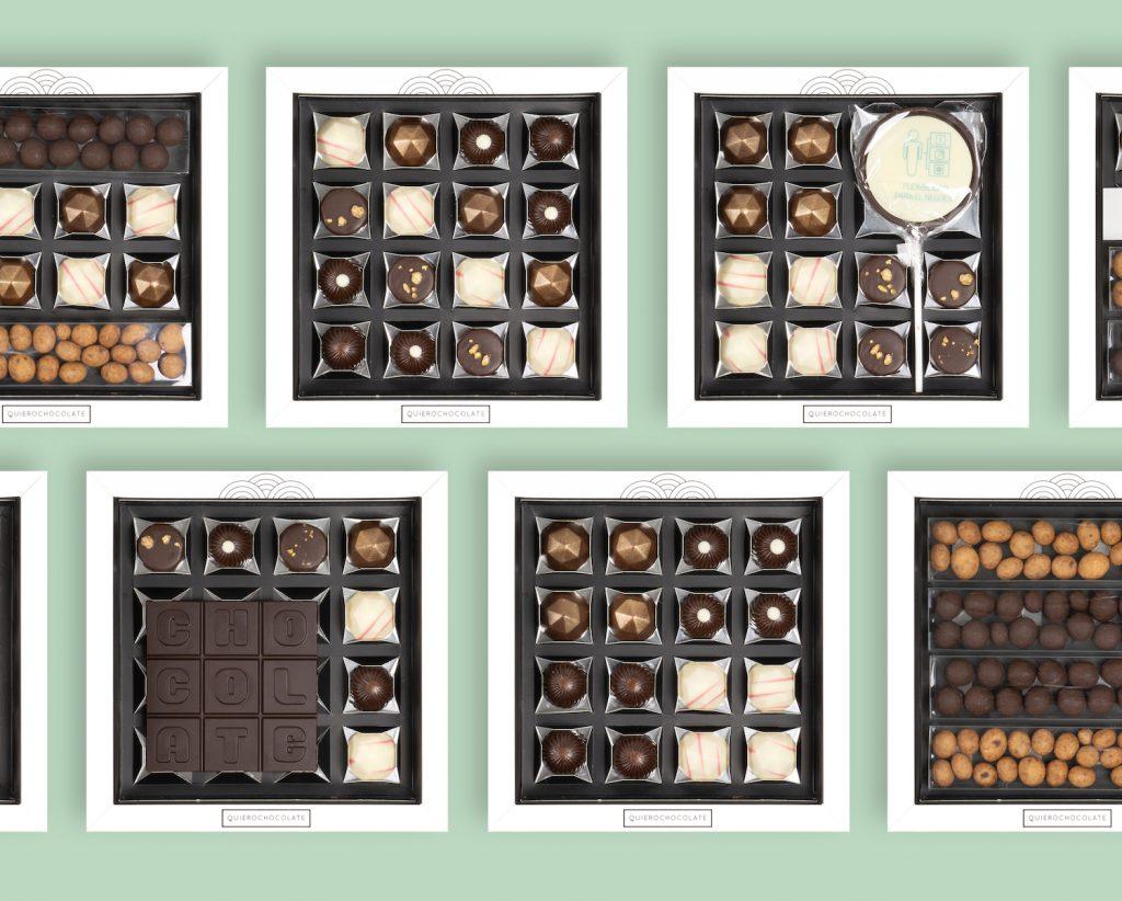 Caja chocolates empresas