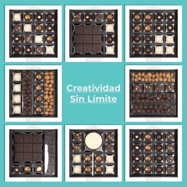 Caja chocolates personalizada