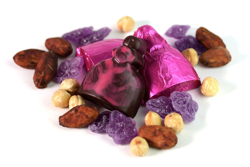 Ingredientes meninas chocolate
